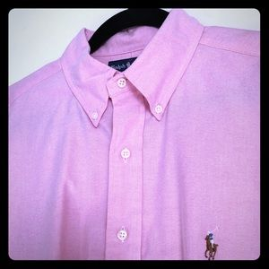 Ralph Lauren Yarmouth Polo Button Down Sz. 16 1/2